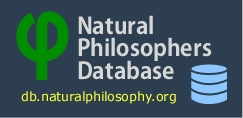 The Natural Philosophers Database