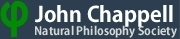 John Chappell Natural Philosophy Society
