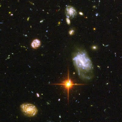Hubble Ultra Deep Field closeup 56543main_hilight_large