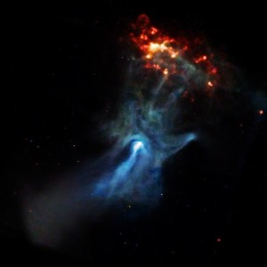 The Cosmic Hand Of God - NASA photo