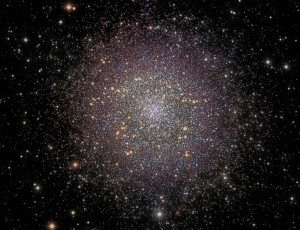 M13 processed using On One Photo Suite 9.5 to Reveal Network of Dust Filaments