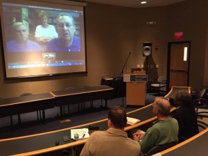 Barry and this production team talks live via video conference to the SciFlix Film Festival.
