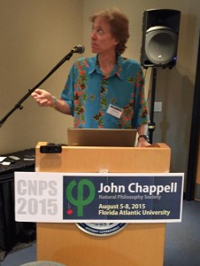 David de Hilster opening up the CNPS Conference in Boca Raton Florida at Florida Atlantic University