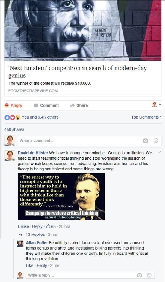 FBEinsteinCampaign